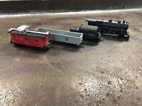 Vintage Marx HO steam Locomotive & Cars Train Set (Lionel, Bachmann, Tyco)