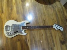 Vintage Domino Bass Guitar