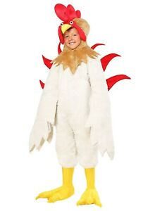 Kids Rooster Chicken Costume SIZE MEDIUM 8-10 (Used)