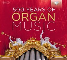 500 YEARS OF ORGAN MUSIC 50 CD NEW+ VARIOUS