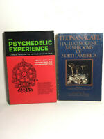 The Psychedelic Experince & Teonanacatl 1st Edition Mushrooms LSD Book of Dead