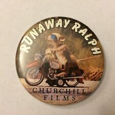 "VINTAGE 2 1/2"" PINBACK BUTTON #103-002 - MOVIE - RUNAWAY RALPH"