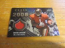 Dexter Jackson 2008 Upper Deck Icons Class 2008 Jersey Silver #CO30 #d 128/199