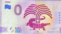 BILLET 0  EURO  NIMES  FRANCE  2021  NUMERO RADAR 707