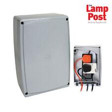 Timeguard WPM02 2 Gang Outdoor Weatherproof IP66 Multi-Connector Box