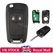Remote Key Fob + 433MHz ID46 Chip HU100 Blade For Vauxhall Insignia Astra Zafira