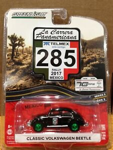 GREENLIGHT GREEN MACHINE *CHASE* CLASSIC VOLKSWAGEN BEETLE MEXICO RALLY 2017