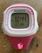 Garmin Forerunner 10 Gps Running Watch Pink W/ Charging Cable