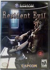 Resident Evil Nintendo Gamecube Video Game with instructions Used 2002