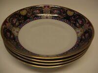 Muirfield China Royal Paisley (4) Soup Cereal Bowls Kimberly McSparran 8931 Ret