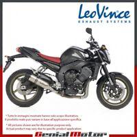 YAMAHA FZ1 2014 14 LEOVINCE TERMINALE SCARICO LV ONE ACCIAIO INOX 8297E