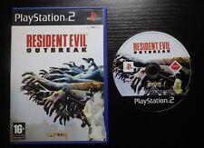JEU Sony PLAYSTATION 2 PS2 : RESIDENT EVIL OUTBREAK (sans notice, envoi suivi)