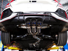 INVIDIA GEMINI R400 Titanium Tip Catback Exhaust Front Pipe for Civic Type R FK8