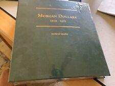 1878-1891 MORGAN DOLLARS  Book Archival Quality Green New Shrink Wrap