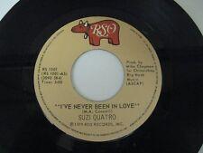 """Suzi Quatro I've never been in love - 45 Record Vinyl Album 7"""""""