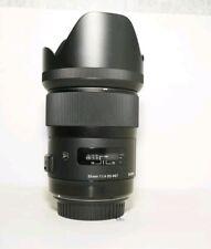 Sigma 35mm F1.4 HSM ART LENTE DG per Canon Nuovo di zecca