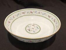 "Bernardaud Limoges Artois Green Versailles Shape Salad Serving Bowl 9 ⅞"" Dia"