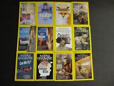 National Geographic magazine Lot 2011 Complete Year! 12 Issues!