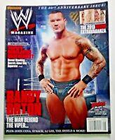 WWE Wrestling Magazine August 2013 Cena Divas Randy Orton Triple H Shield