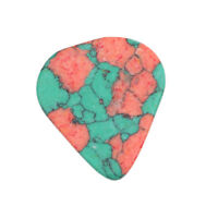 1pc Heart Smooth Acoustic Electric Guitar Pick Picks Plectrum for Bass Parts