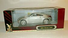 Yat Ming Road Signature Deluxe Edition 2003 Nissan 350Z 1:18 Scale 92538 MIB
