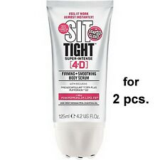 SOAP & GLORY 2 PCS SIT TIGHT 4-D TARGETED FIRMING SMOOTH LOWER BODY SERUM ROLLER