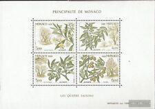 Monaco Block41 (kompl.Ausg.) gestempelt 1988 Vier Jahreszeiten