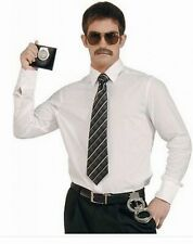 Police Badge Holder Handcuffs Glasses Moustache  Fancy Dress  stag do hen party