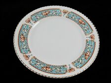 "Johnson Brothers Old English HAMPTON Turquoise/Aqua Rope - 8 3/4"" Luncheon Plate"