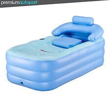 Blow Up Adult Pvc Folding Portable Foldable Bathtub Inflatable Bath Tub Air Pump
