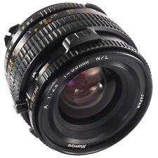 Mamiya A 55mm 1:2.8 N/L leaf shutter lens for 645 Super PRO TL M645 1000s (1106)
