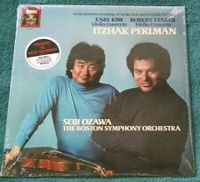 Ozawa/Perlman - Kim/Starer Violin Concertos LP EMI/Angel/DMM Still Sealed