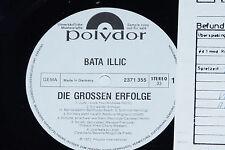 BATA ILLIC -Die Grossen Erfolge- LP 1973 Polydor Promo Archiv-Copy mint