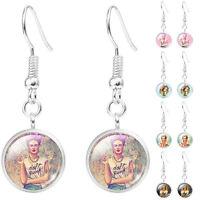 Fashion Frida Kahlo Demo Dangle Earrings Women Earrings Jewelry Silver Plated