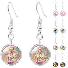 Fashion Frida Kahlo Demo Dangle Earrings Women Earrings Jewelry Silver Plated