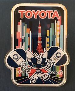 TOKYO 2020 OLYMPIC PINS -   TOYOTA SPONSOR PIN — .