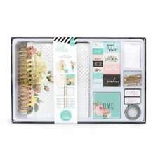 "American Crafts Heidi Swapp Memory Planner Kit - 6"" x 8"" Planner - Gold Foil Pol"