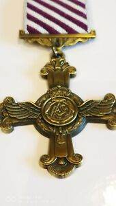 New Distinguished Flying Cross DFC Full Size Royal Air Force Medal RAF Gallantry