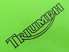 Triumph 1999 decals stickers for Race, Track Bike, Toolbox, Garage, Van #39B