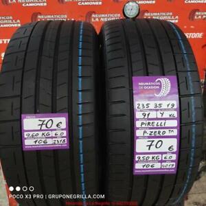 2 x 235 35 R 19 91Y XL 6.0/6.0mm Pirelli P-Zero Ref.106
