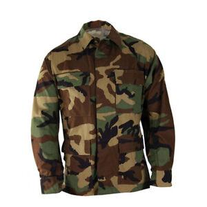 Propper Genuine Gear Cotton Poly Ripstop Uniform BDU Tactical Military Coat