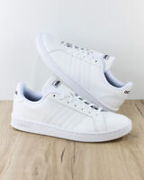 Adidas Scarpe Sportive Sneakers Grand Court Uomo Total Bianco Pelle