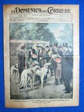 La Domenica del Corriere 14 maggio 1922 Roma - Conf. Genova - Ingegneria navale