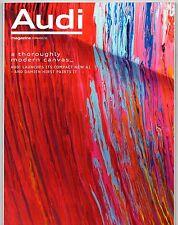 Audi Magazine Summer 2010 UK Market Brochure A1 A4 TDie RS5 A8 LWB R8 GT Spyder