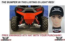 LIGHT RED Axiom Side by side Polaris RZR 900 & S 1000 Rear Bumper