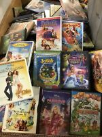 LOT OF 10 KIDS DVD ASSORTED MOVIES Random Includes Children's Movies & Tv Shows!