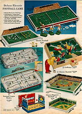 1963 AD 2 Page Tpy Sport Games Electro Magnetic Baseball NHL Hockey Football