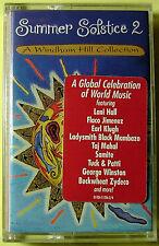 Summer Solstice, Vol. 2 (Compilation) (Cassette, 1998, Windham Hill) NEW