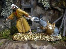 """Landi 3.5"""" Nativity Scene Presepio Figurine Pesebre Pastor y Burro"""