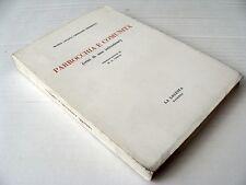 243) PARROCCHIA E COMUNITà (di M.G. GRESLERI PEDRETTI) 1a ediz. LA LOCUSTA 1970